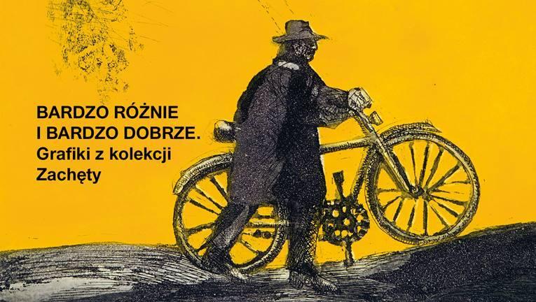 """Mieczysław Wejman, """"Rowerzysta IX A"""", 1970 (źródło: materiały prasowe organizatora)"""