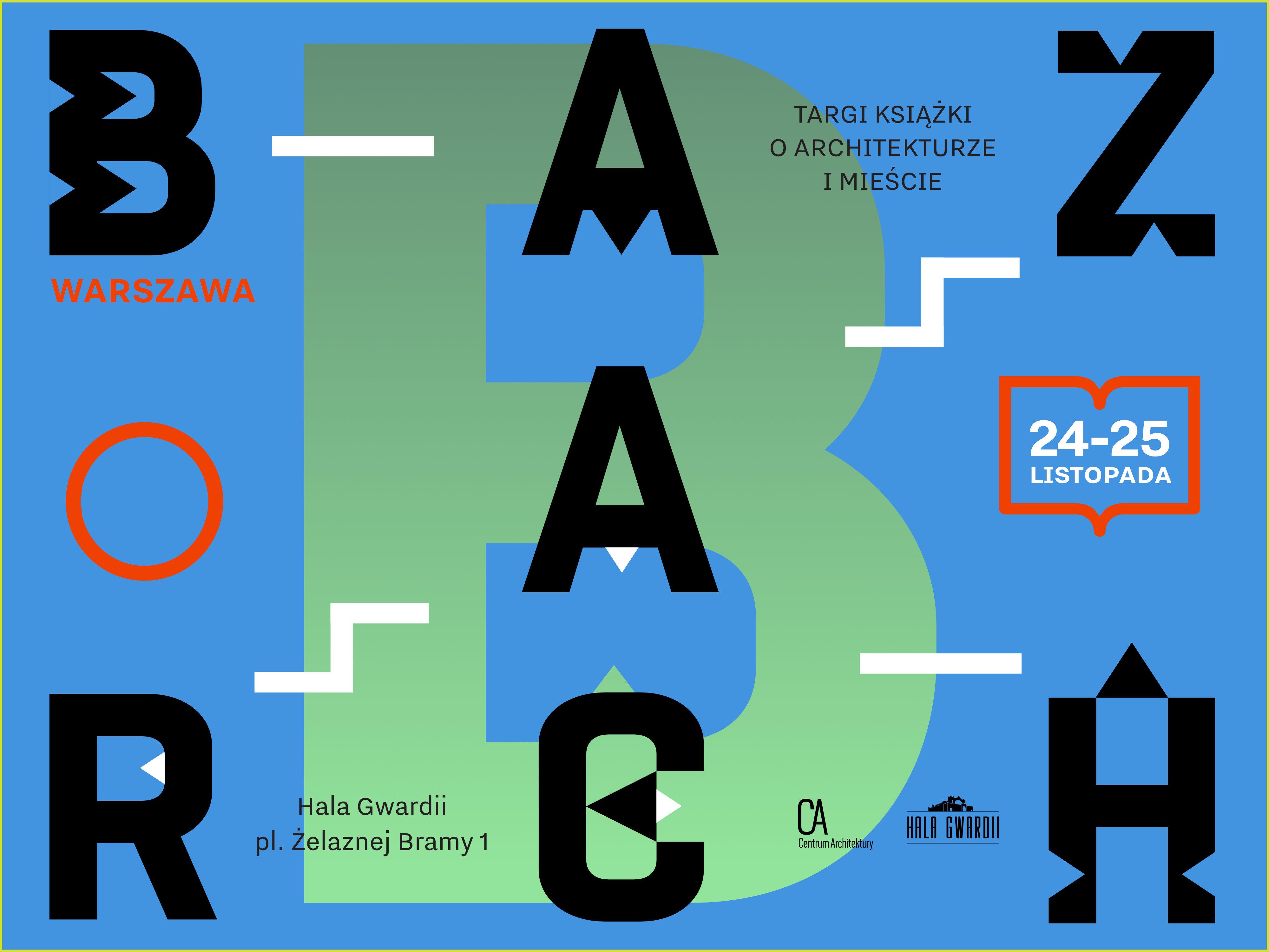BAZARCH – targi książek o architekturze (źródło: materiały prasowe organizatora)