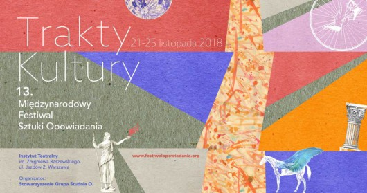 Festiwal Sztuki Opowiadania 2018  (źródło: materiały prasowe organizatora)