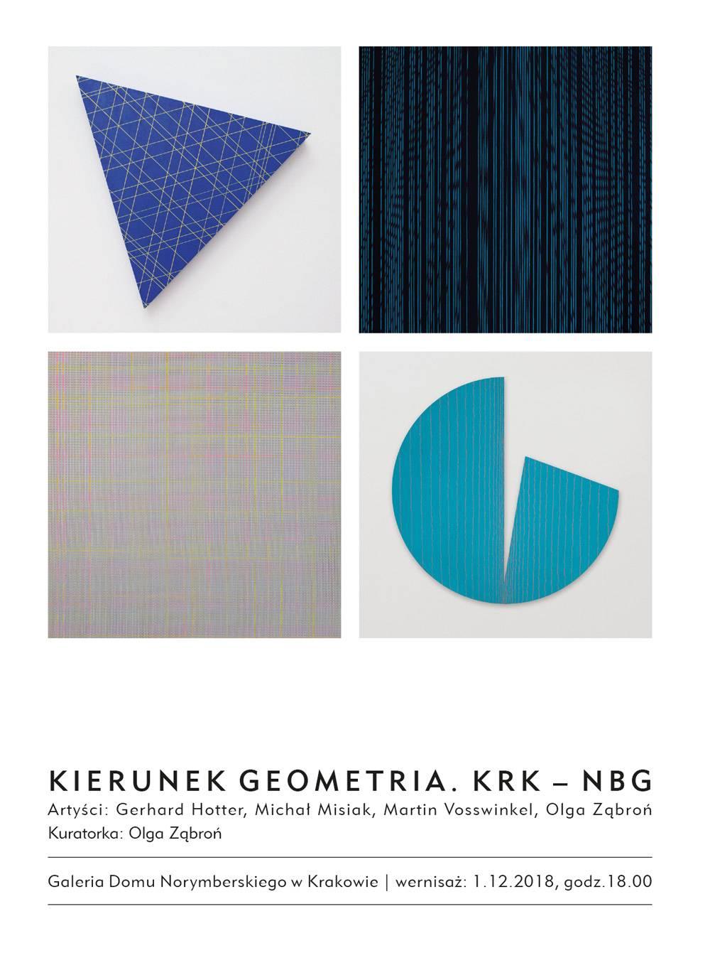 """""""Kierunek Geometria. KRK - NBG"""" (źródło: materiały prasowe organizatora)"""