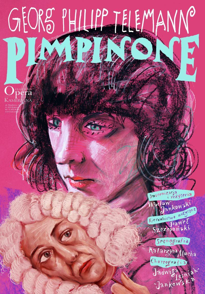 """Georg Philipp Telemann, """"Pimpinone"""", reż. Wacław Jankowski (źródło: materiały prasowe opery)"""