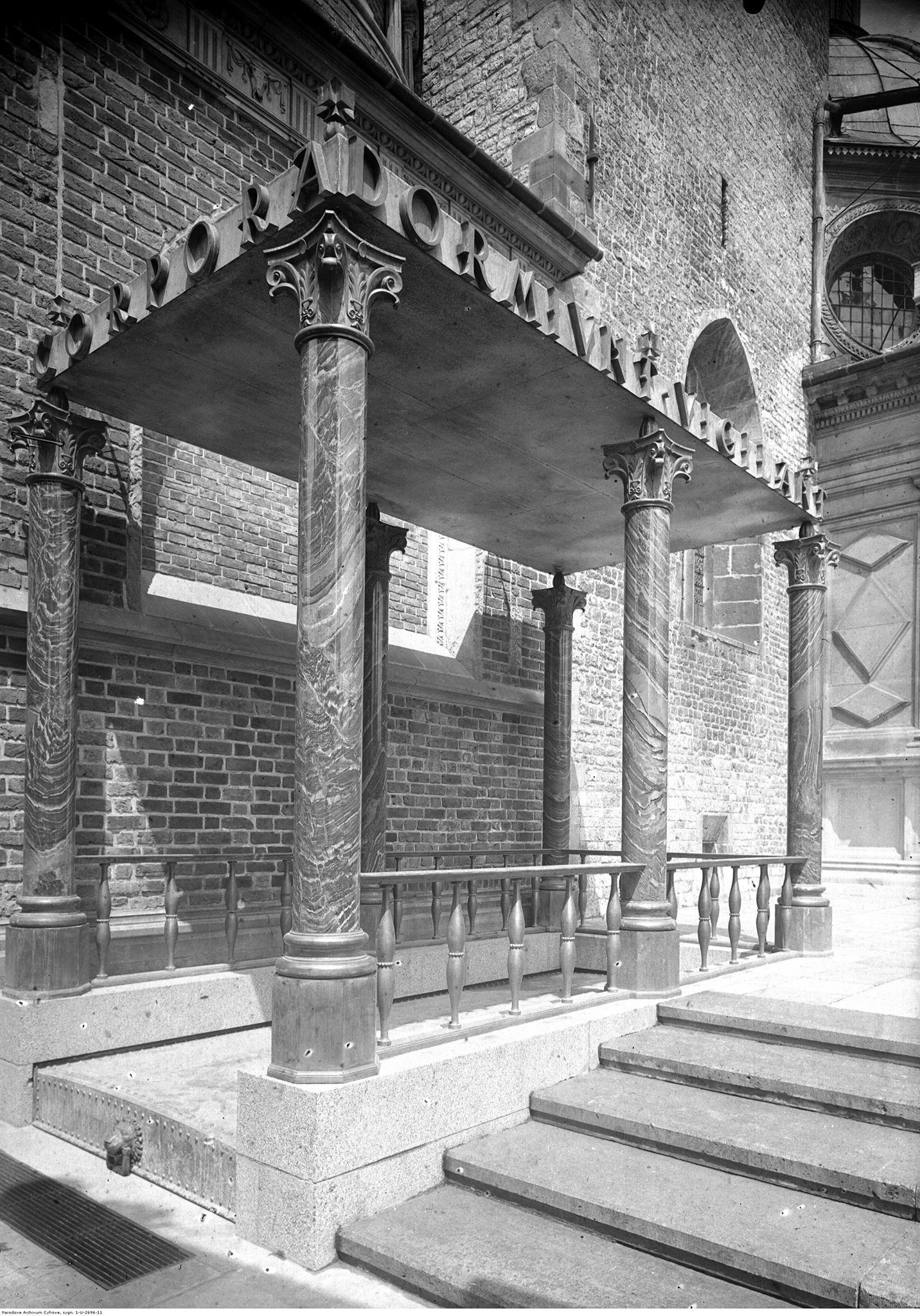 """""""Corpora Dormiunt. Architekt Piłsudskiego – Adolf Szyszko-Bohusz"""", Instytut Architektury (źródło: materiały prasowe organizatorów)"""
