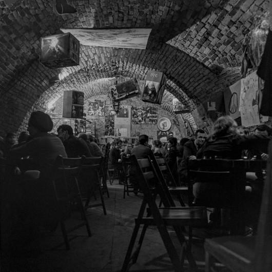 Kawiarnia w Krzysztoforach, połowa 1969, fot. Jacek Maria Stokłosa (źródło: materiały prasowe organizatora)