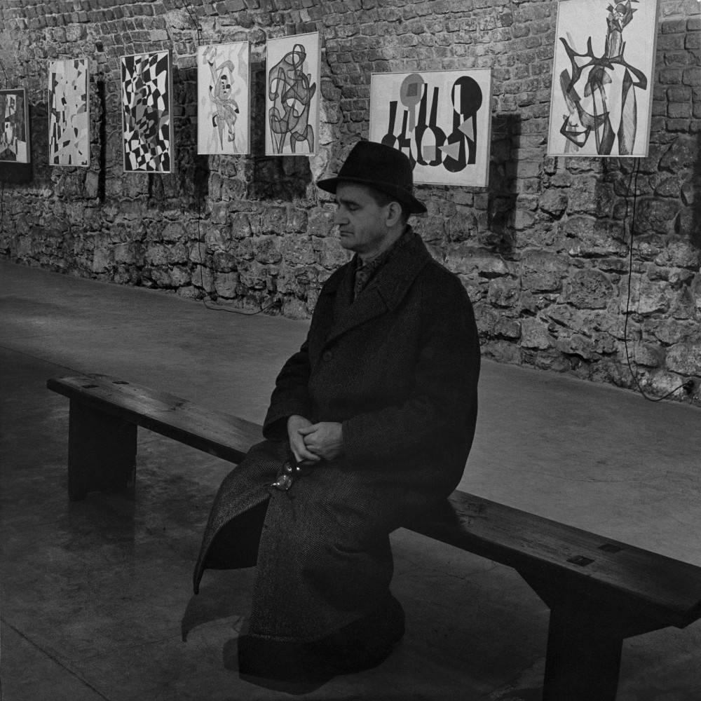 Wystawa Marii Jaremy w Galerii Krzysztofory, 19 XI – 13 XII 1966, fot. Jacek Maria Stokłosa (źródło: materiały prasowe organizatora)
