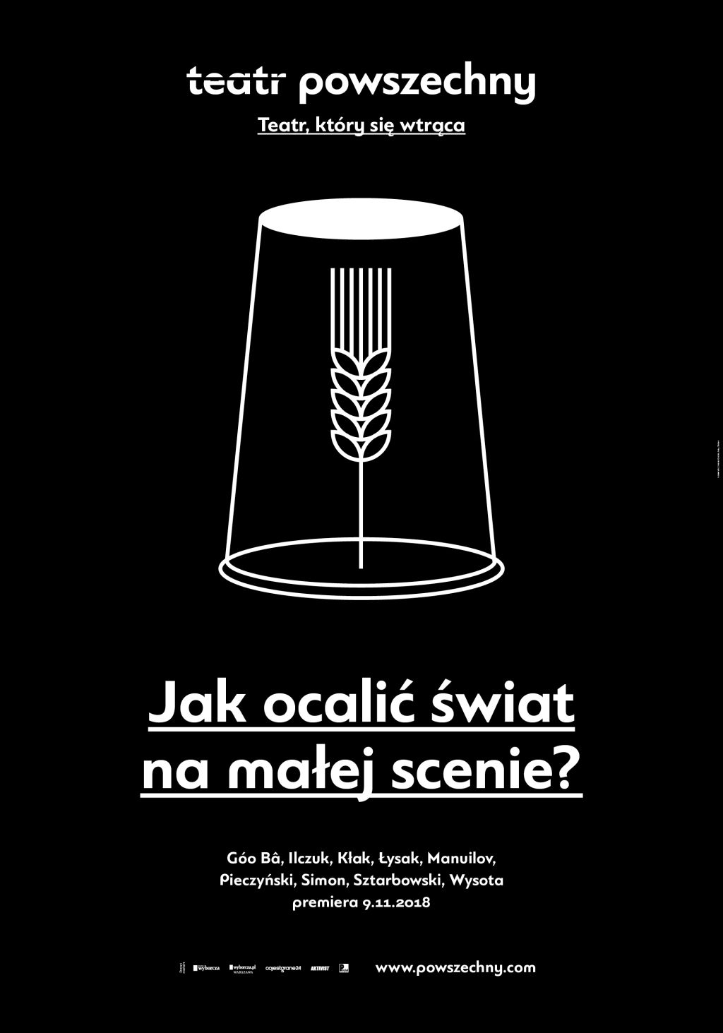 """""""Jak ocalić świat na małej scenie?"""", reż. Paweł Łysak (źródło: materiały prasowe teatru)"""