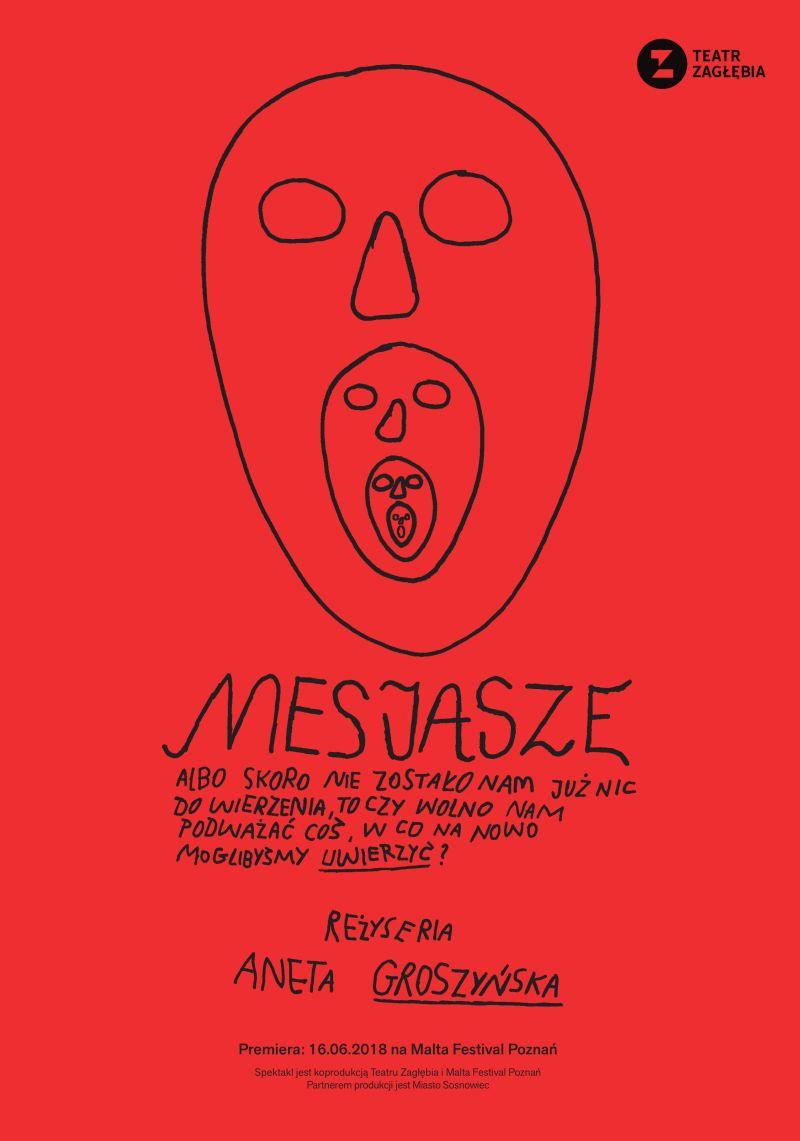 """Jan Czapliński, Marcin Kącki, """"Mesjasze"""", reż. Aneta Groszyńska (źródło: materiały prasowe teatru)"""