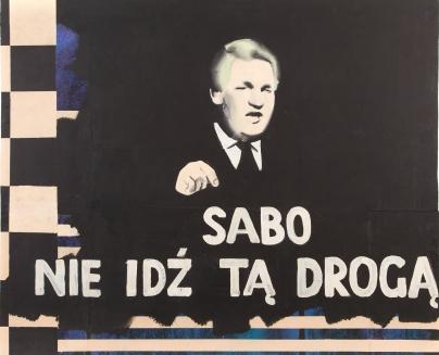 """Marcin Maciejowski — """"Sabo nie idź tą drogą"""" (źródło: materiały prasowe organizatora)"""