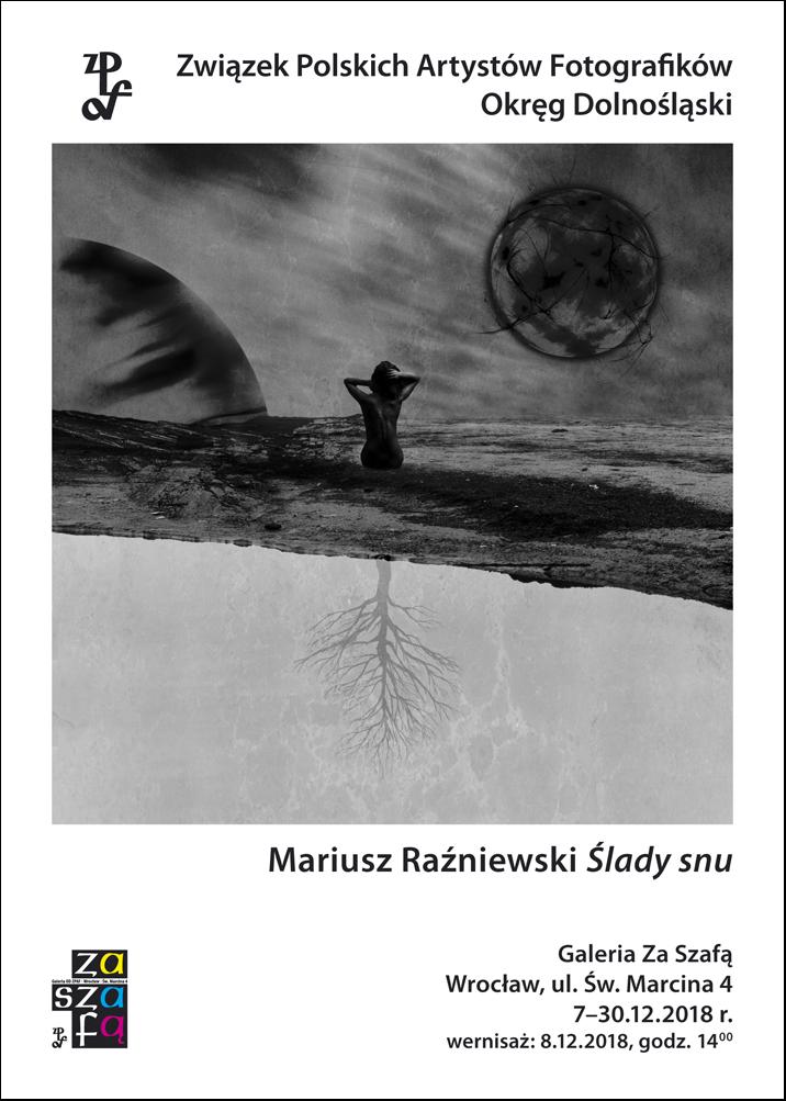 Mariusz Raźniewski i wystawa we Wrocławiu (źródło: materiały prasowe organizatora)