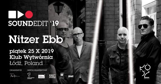 Nitzer Ebb pierwszą gwiazdą festiwalu Soundedit 2019. (źródło: materiały prasowe organizatora)