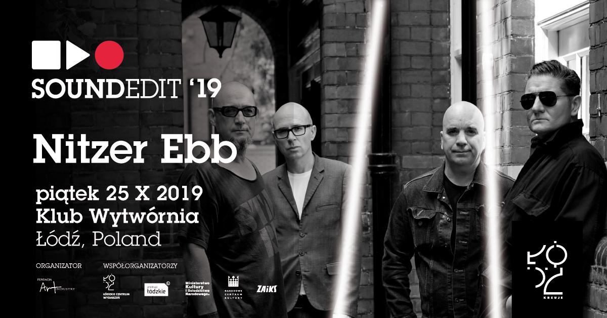 Nitzer Ebb pierwszą ogłoszoną gwiazdą festiwalu Soundedit 2019. (źródło: materiały prasowe organizatora)