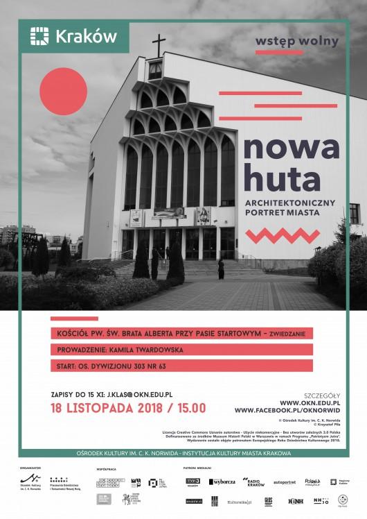 """""""Nowa Huta. Architektoniczny portret miasta"""", Ośrodek Kultury im. C. K. Norwida (źródło: materiały prasowe organizatorów)"""