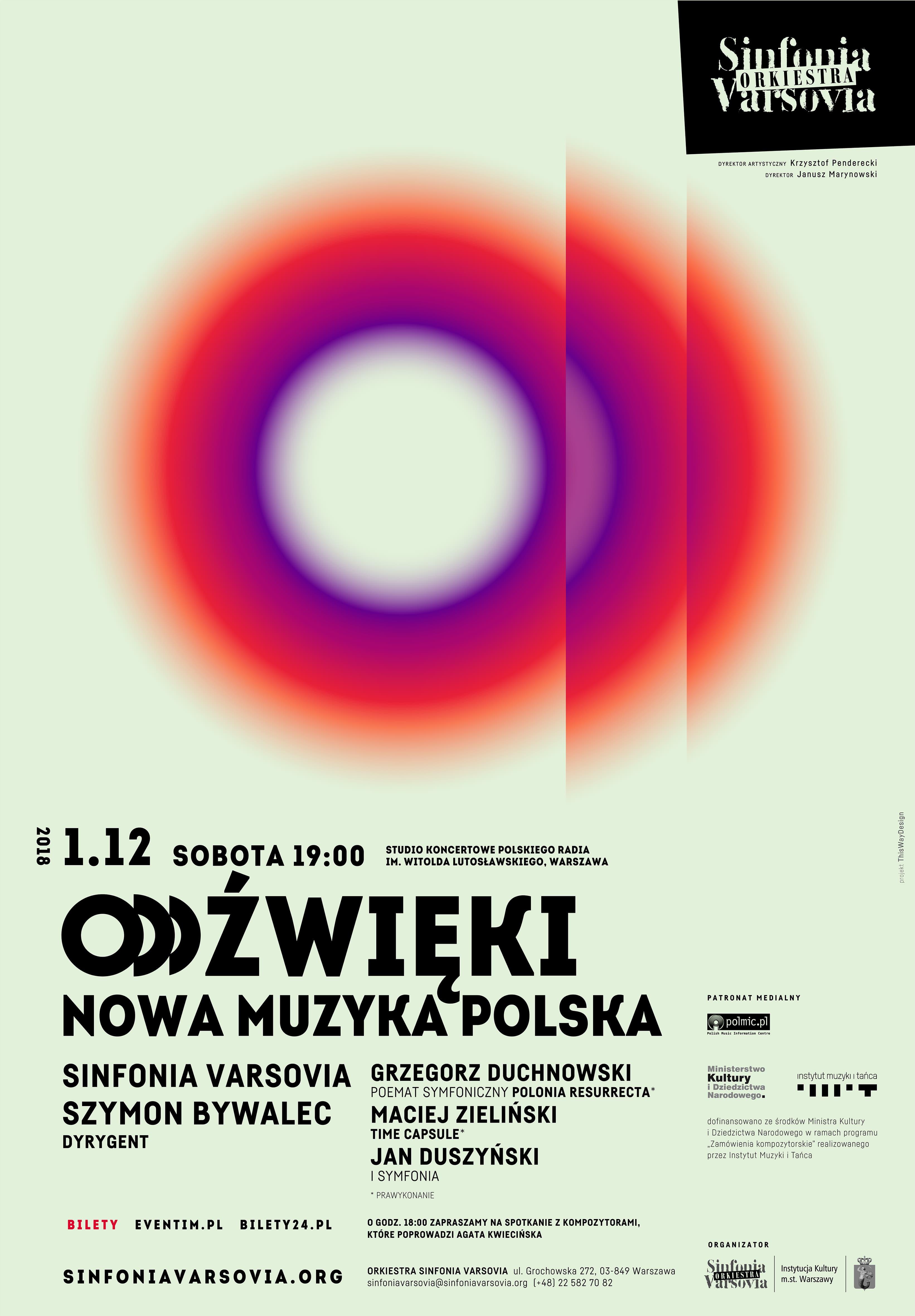 """""""Oddźwięki. Nowa muzyka polska"""" (źródło: materiały prasowe organizatora)"""