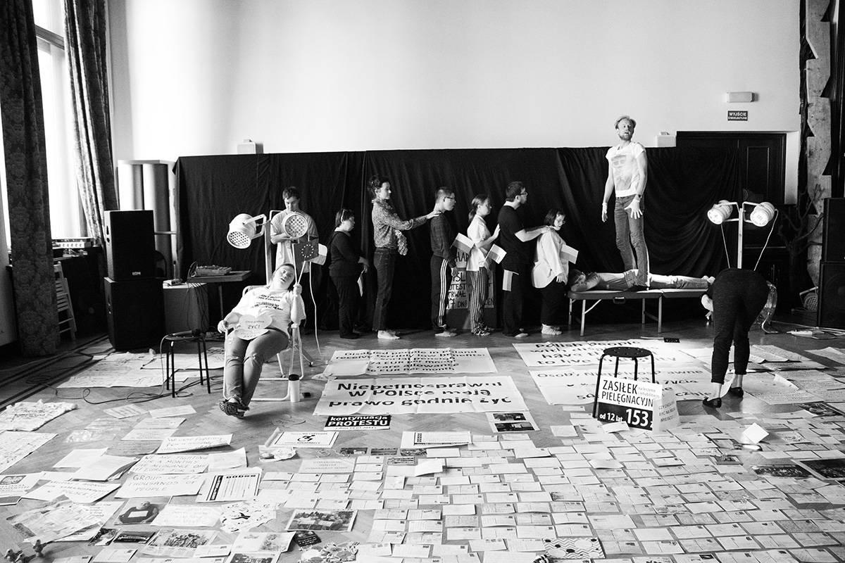 """""""Rewolucja, której nie było"""", fot. D. Dąbrowiecka (źródło: materiały prasowe organizatora)"""