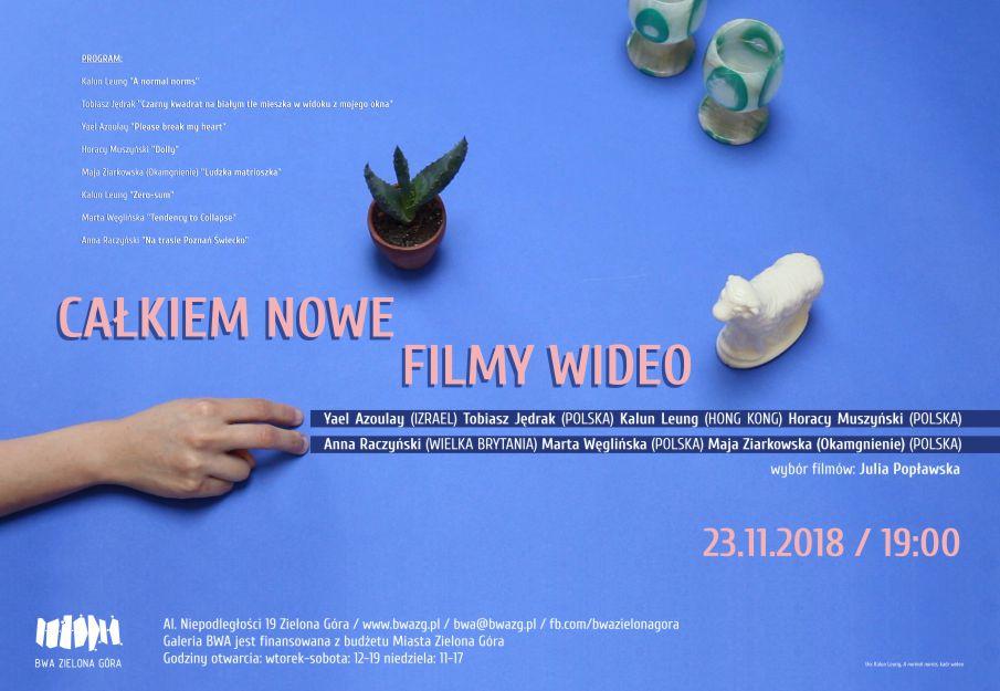 Całkiem nowe filmy wideo. Selekcja Julii Popławskiej (źródło: materiały prasowe organizatora)