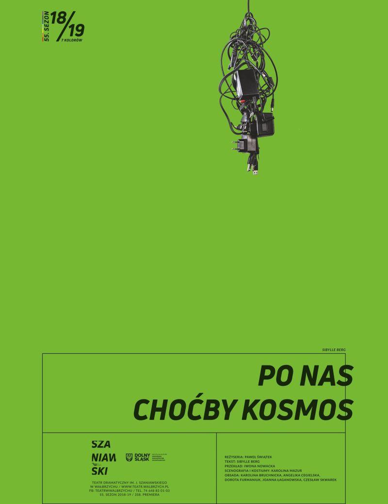 """Sibylle Berg, """"Po nas choćby kosmos"""", reż. Paweł Świątek (źródło: materiały prasowe teatru)"""