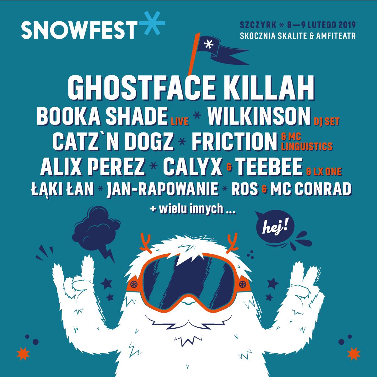 """Festiwal """"SnowFest 2019"""" (źródło: materiały prasowe organizatora)"""