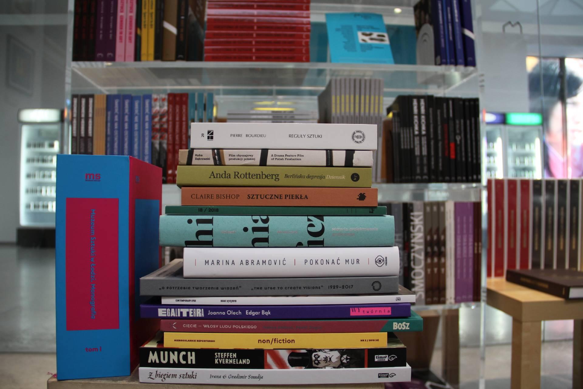 MOCAK Bookstore, fot. R. Sosin (źródło: materiały prasowe organizatora)