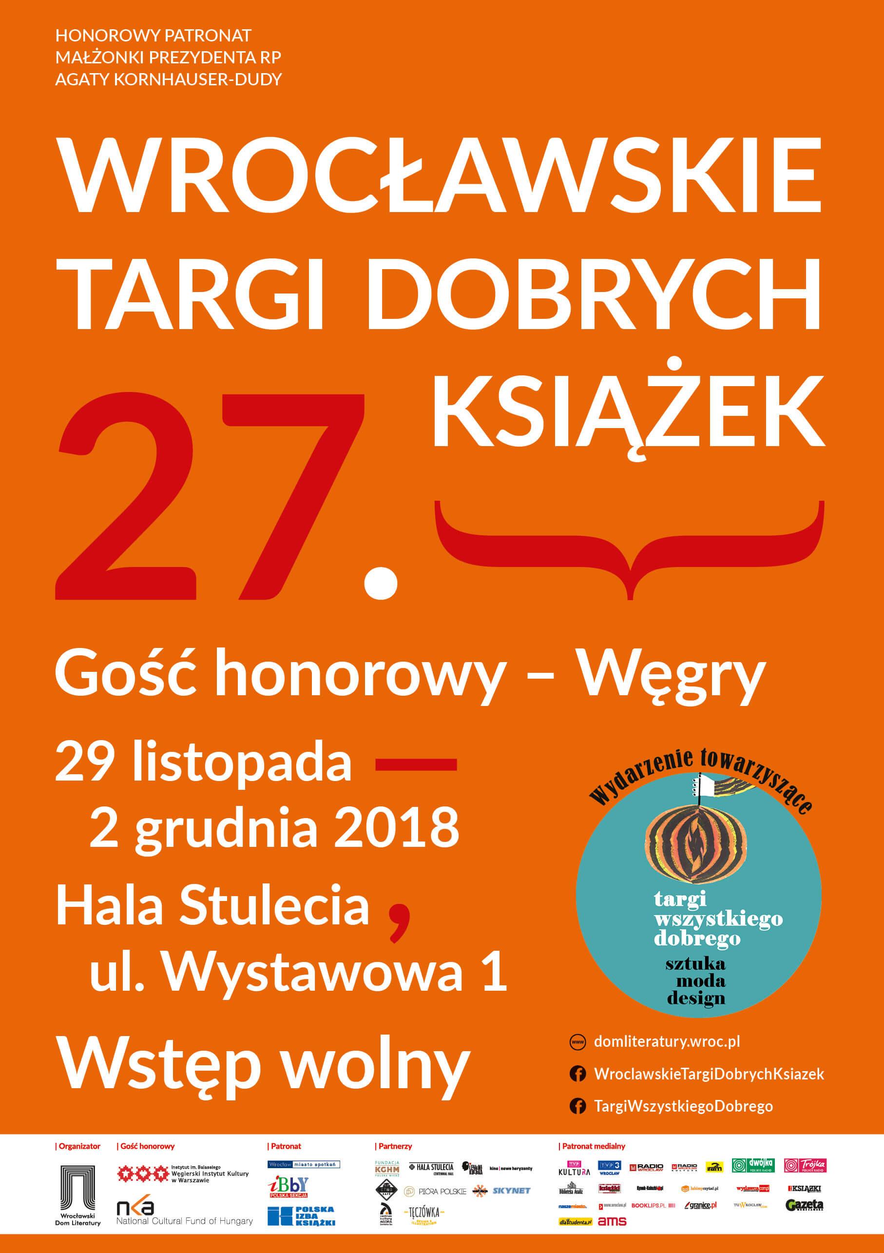 27. Wrocławskie Targi Dobrych Książek (źródło: materiały prasowe organizatora)
