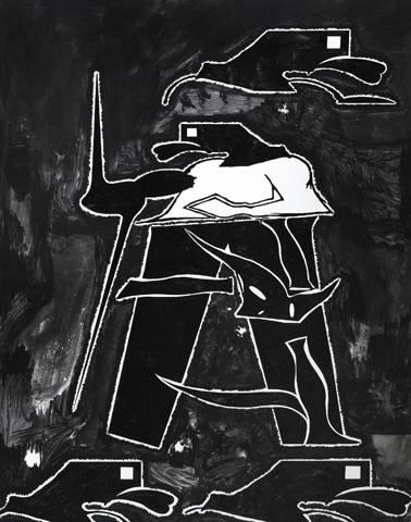 """Cezary Poniatowski, """"Zawisza Czarny"""", 2016, (źródło: materiały prasowe organizatora)"""
