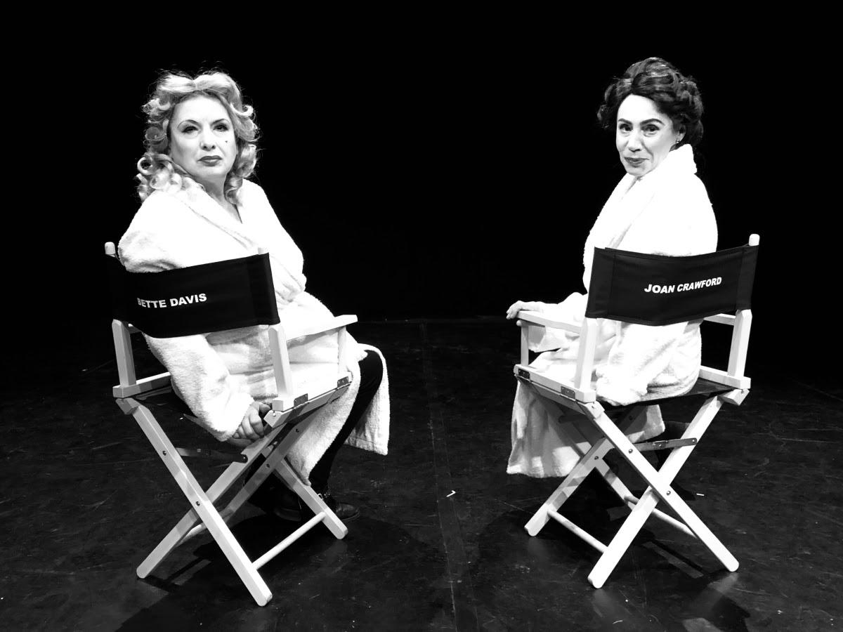 """Bette & Joan"", reż. Sylwester Biraga, Teatr Druga Strefa (źródło: materiały prasowe organizatora)"