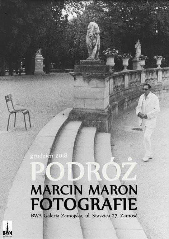 Marcin Maron w BWA Galerii Zamojskiej (źródło: materiały prasowe organizatora)