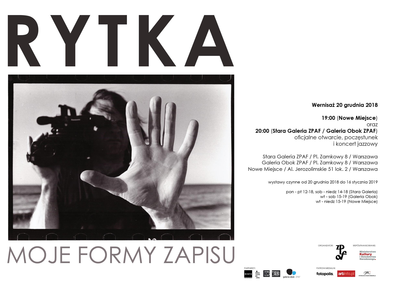 """""""Moje formy zapisu"""" Zygmunt Rytka (źródło: materiały prasowe organizatora)"""
