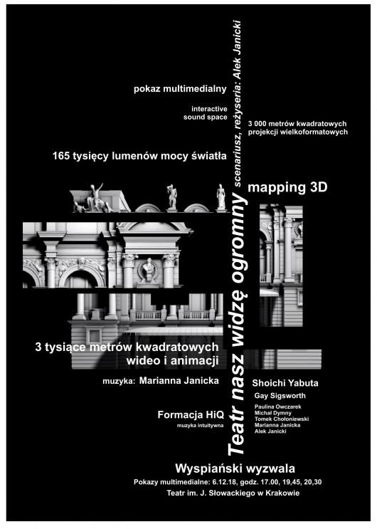 """""""Teatr nasz widzę ogromny"""" Aleksander Janicki (źródło: materiały prasowe organizatora)"""