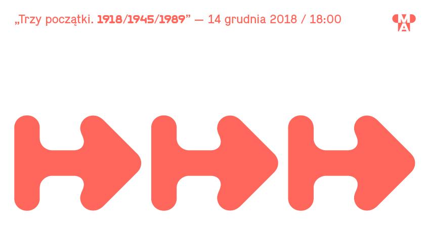 """""""Trzy początki. 1918/1945/1989"""", Muzeum Architektury we Wrocławiu (źródło: materiały prasowe organizatora)"""
