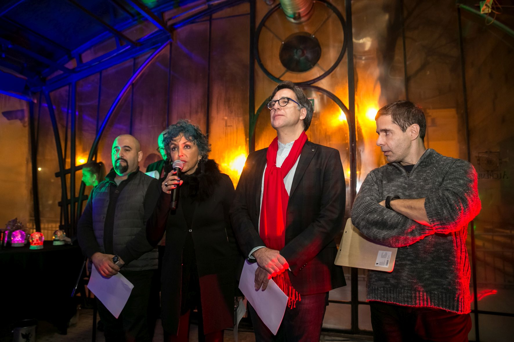 Jury ogłaszające wyniki 11. edycji festiwalu (źródło: materiały prasowe organizatora)