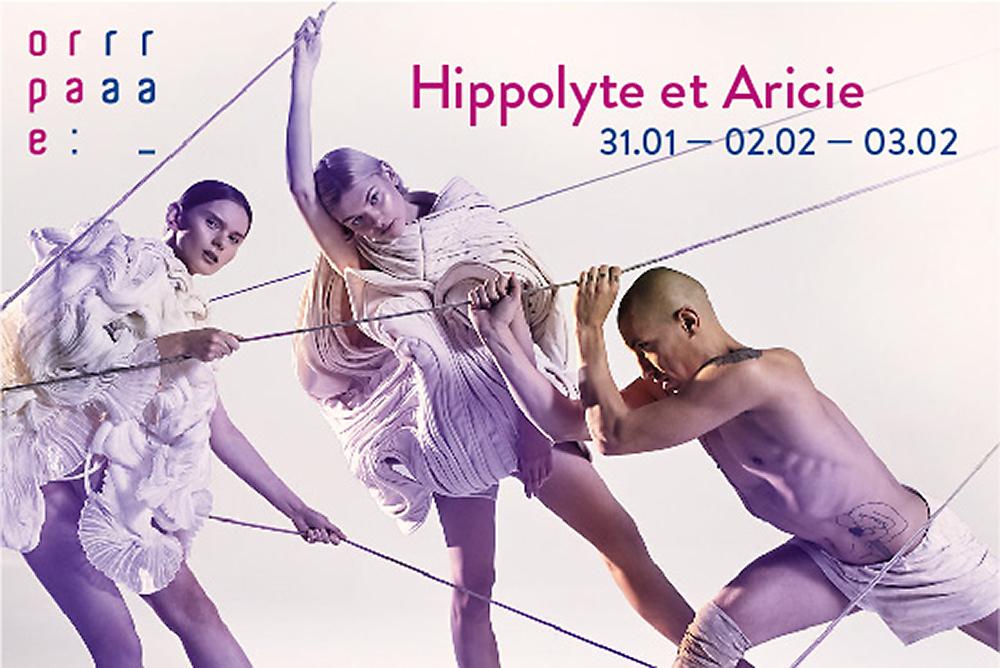 Hippolyte et Aricie, Plakat Festiwalu Opera Rara (Źródło: materiały prasowe organizatora)