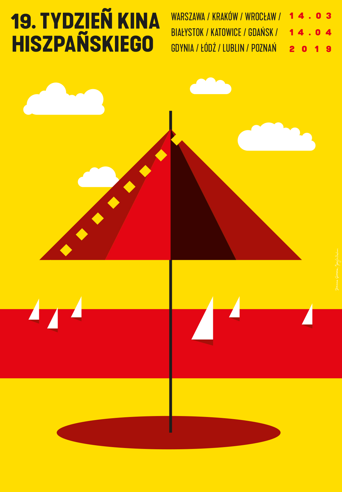 Plakat 19. Tydzień Kina Hiszpańskiego (źródło: materiały prasowe)