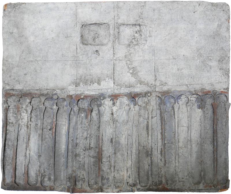 Bez tytułu, technika własna, 26 x 30 cm, 1 poł. lat 60., niesygn. (źródło: materiały prasowe)