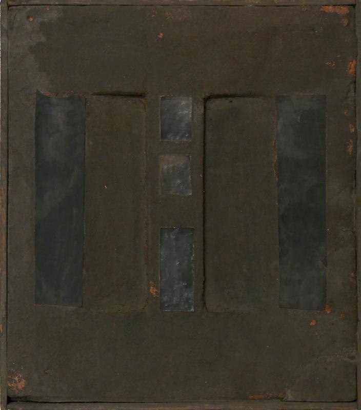 Bez tytułu, technika własna, 26.5 x 23.5 cm, 1 poł. lat 60., niesygn. (źródło: materiały prasowe)