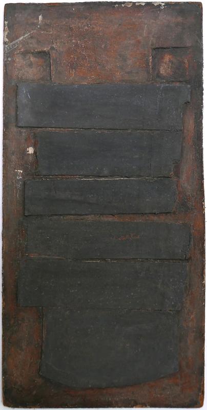 Bez tytułu, technika własna, 47.5 x 24.5 cm, pocz. lat 60., niesygn. (źródło: materiały prasowe)