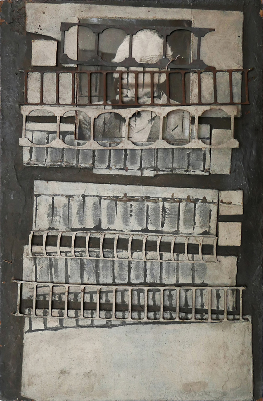 Bez tytułu, technika własna, 37.5 x 23.7 cm, lata 60., niesygn. (źródło: materiały prasowe)