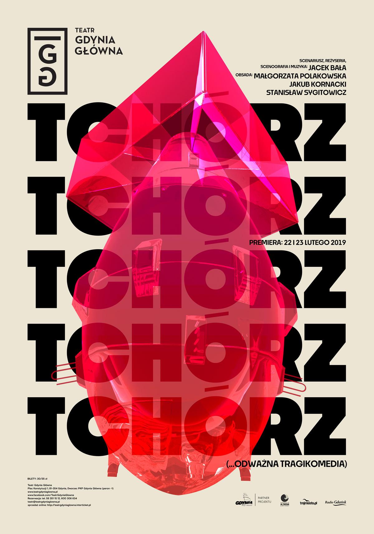 TCHÓRZ – odważna tragikomedia plakat (źródło: materiały prasowe organizatora)