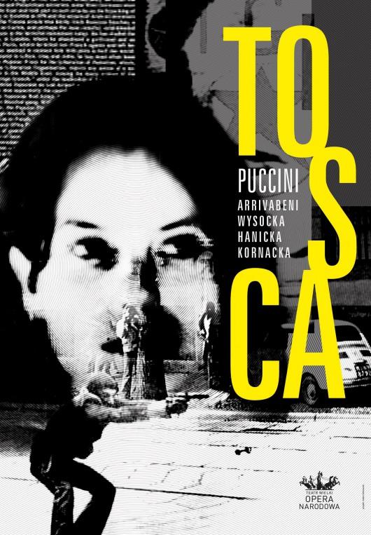 TOSCA – Giacomo Puccini, plakat (źródło: materiały prasowe)