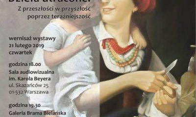 Wystawa Dzieła Utracone w Muzeum Niepodległości w Warszawie (źródło: materiały prasowe organizatora)