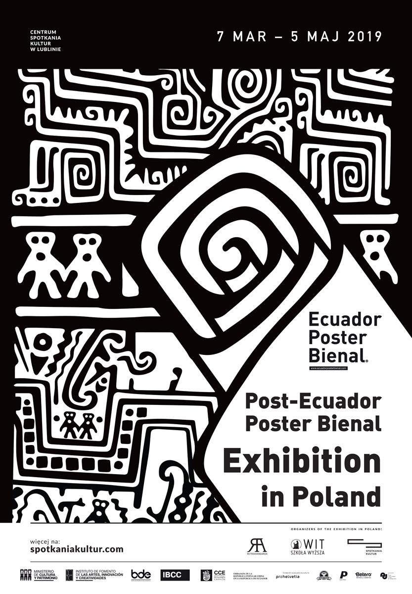 Plakat Ecuador Poster Bienal 2019 (źródło: materiały prasowe)
