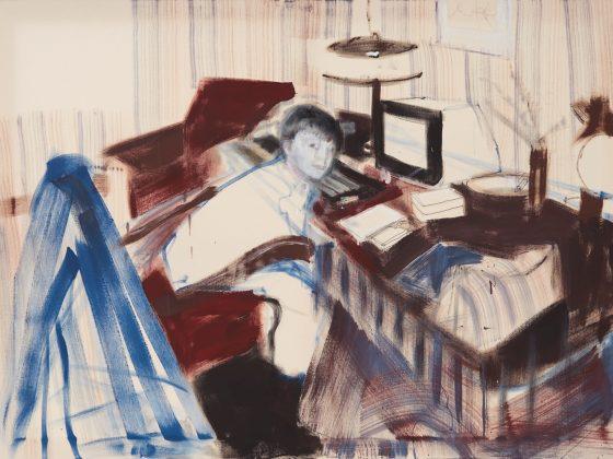 Norman Leto, To co musiał widzieć codziennie mój tata po powrocie z pracy o piętnastej, 2014, olej na płótnie, fot.© Andrzej Leszczyński / Muzeum Narodowe w Gdańsku (źródło: materiały prasowe)