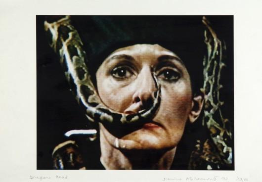 """Marina Abramović, """"Dragon Head"""", 1990, kolekcja MOCAK-u Muzeum Sztuki Współczesnej w Krakowie (źródło: materiały prasowe)"""