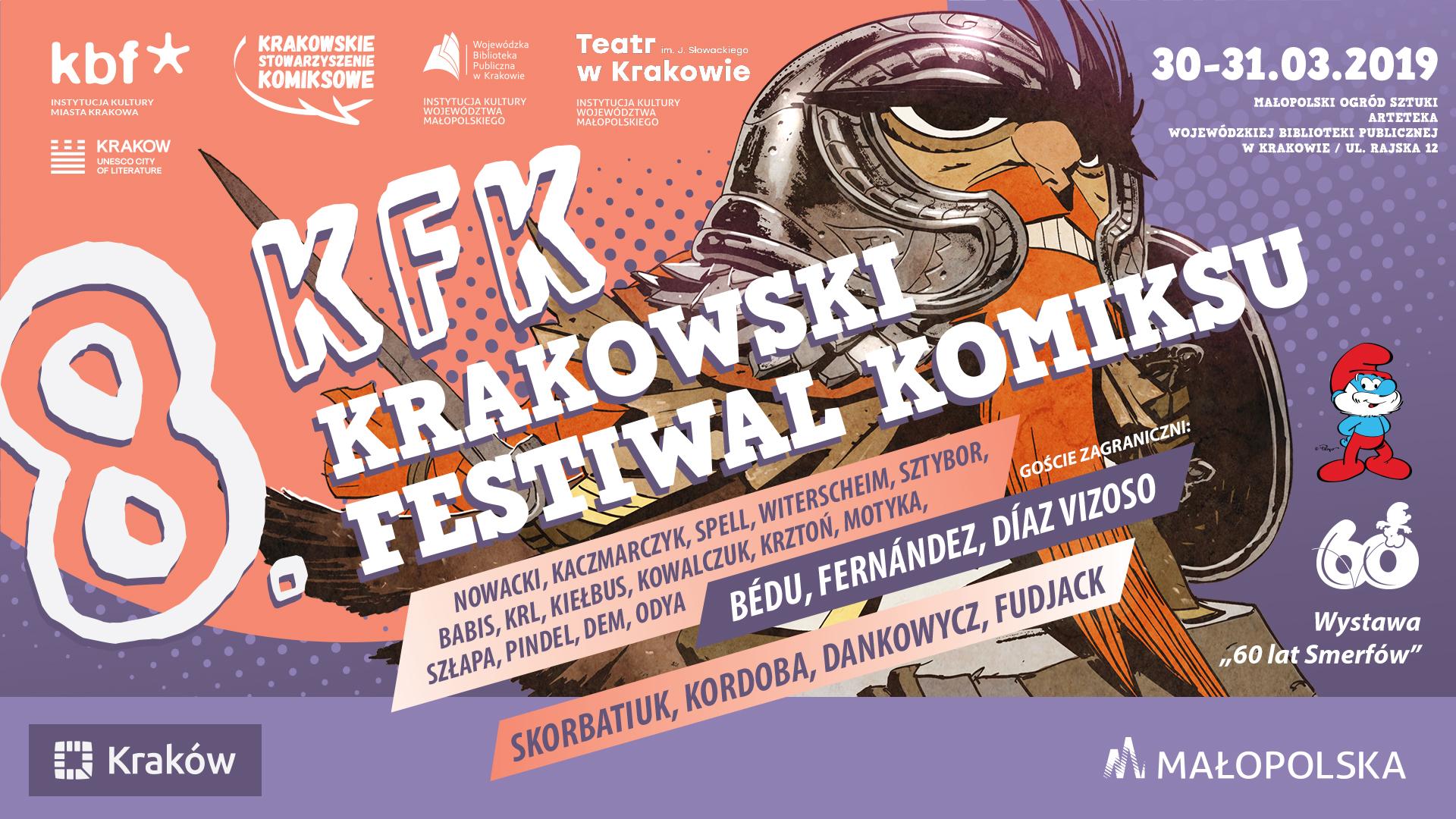 8. Krakowski Festiwal Komiksu (źródło: materiały prasowe)