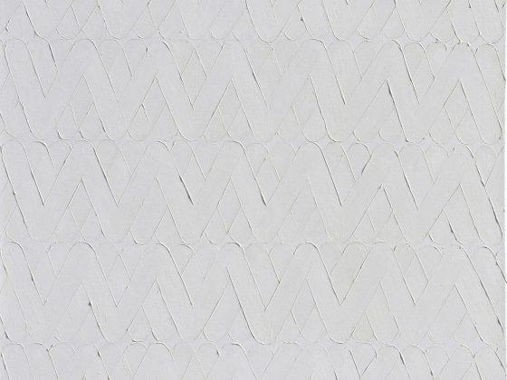 Andrzej Leśnik,, bez tytułu, 2017, olej, płótno, 60×60 cm (źródło: materiały prasowe)