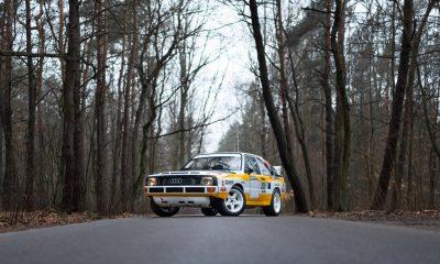 Audi S1 Quattro, Replika (źródło: materiały prasowe)
