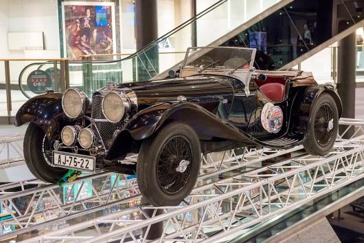 Wystawa kultowych Jaguarów w Galerii Krakowskiej (źródło: materiały prasowe)