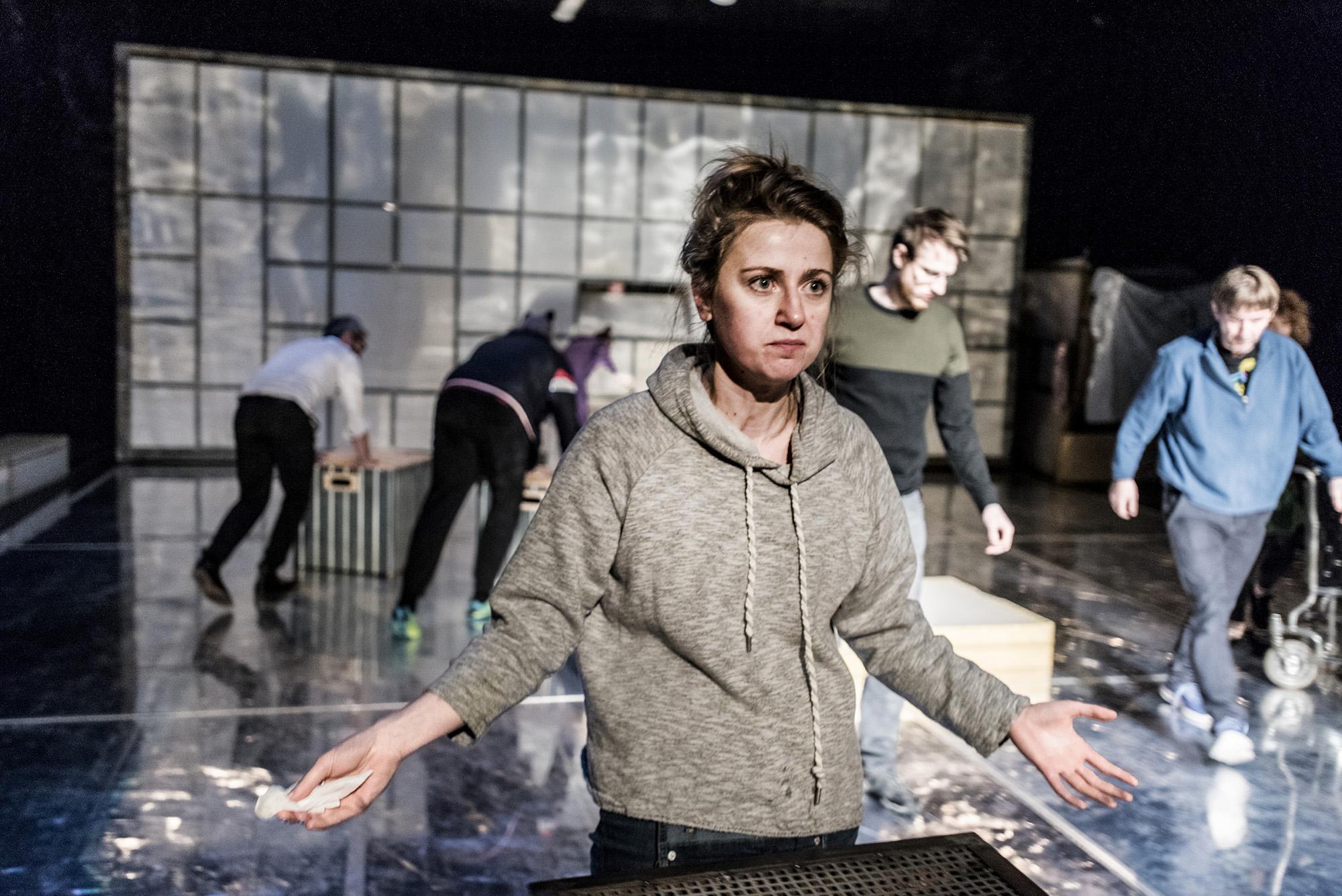 Agnieszka Skrzypczak, foto Greg Noo-Wak (źródło: materiały prasowe, Teatr Jaracza)