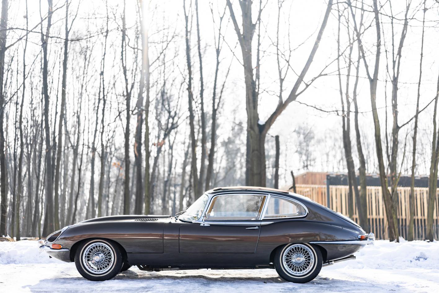 Jaguar E-Type (źródło: materiały prasowe)
