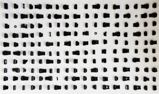 Paweł Jaskuła, Negative of memories, instalacja, klisze fotograficzne, 2018 (źródło: materiały prasowe)