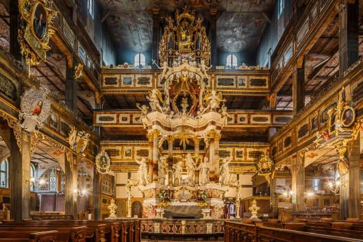 Wnętrza Kościoła Pokoju w Świdnicy, fot. T. Mirosz (źródło: materiały prasowe)