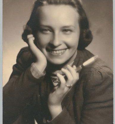 Zakład fotograficzny Zygmunt Garzyński, Danuta Garzyńska - Buzek, portret., 1944 (źródło: materiały prasowe)